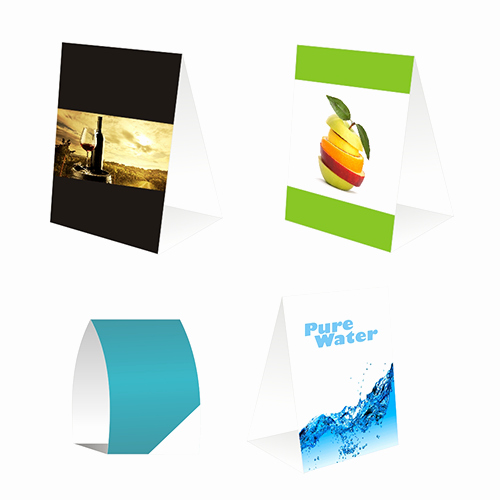 How to Print Table Tents Best Of Custom Table Tents Printing and Designing
