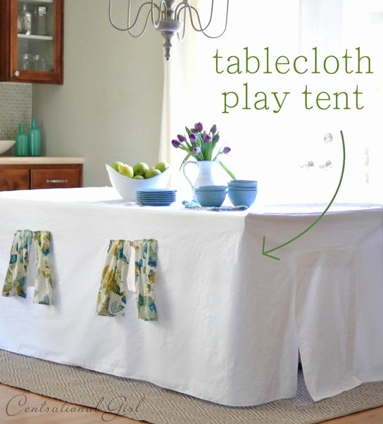How to Print Table Tents Lovely 16 Diy Table Playhouses the Bright Ideas Blog
