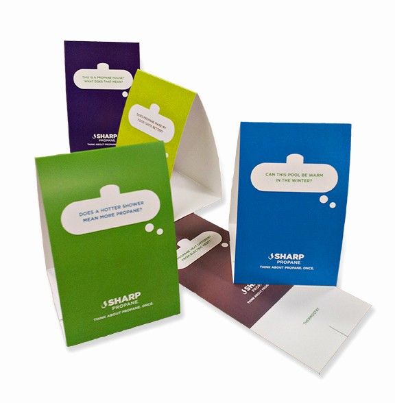 How to Print Table Tents Lovely Printed Table Tents Austin Tx Table Tent Printing