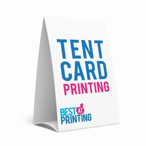 How to Print Tent Cards Beautiful Tent Card Printing Service Dimension Size A5 Size