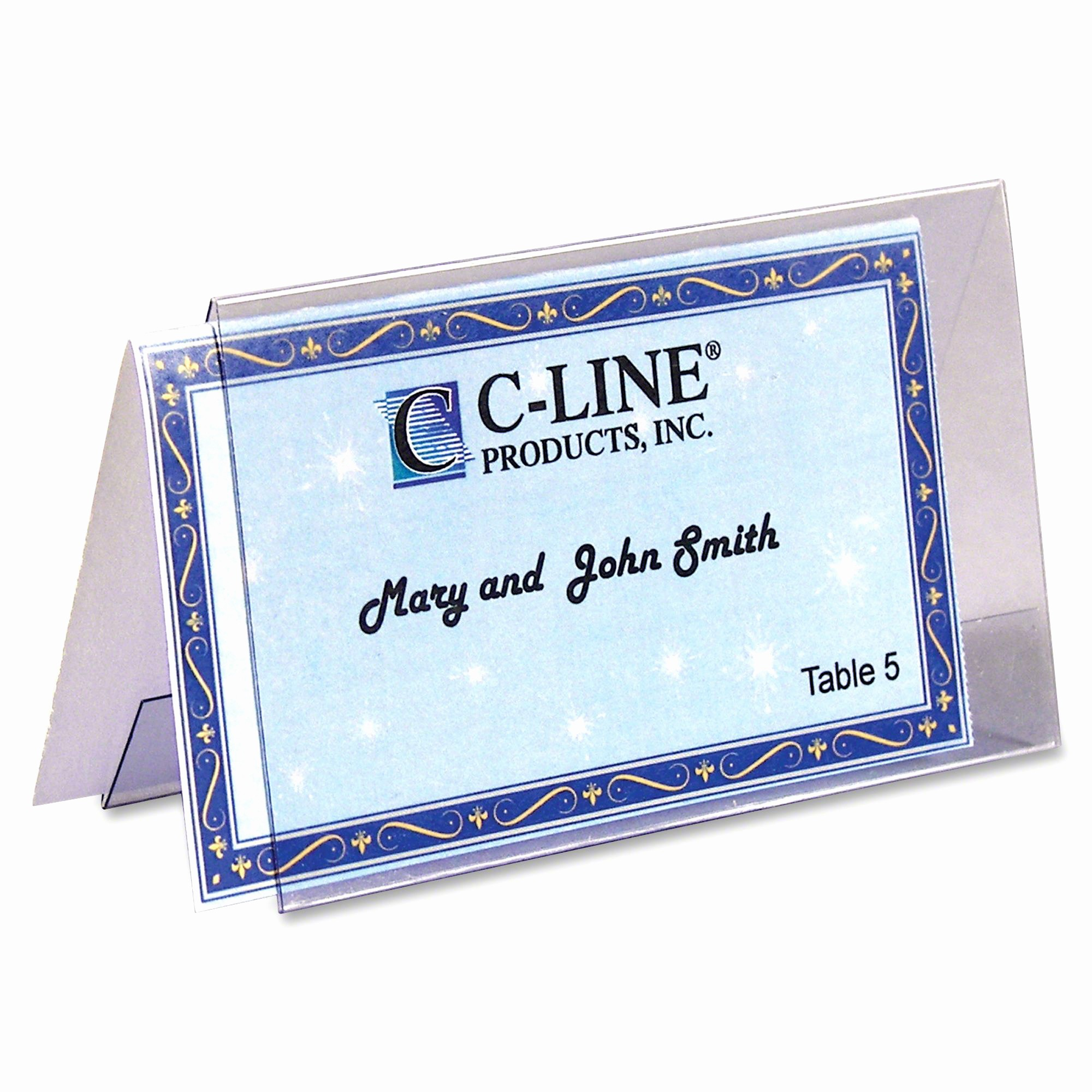 How to Print Tent Cards Fresh C Line Name Tent Templates for Laser Inkjet Print