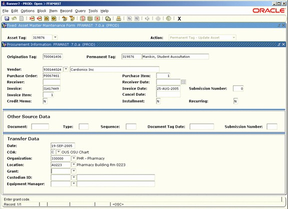 How to Record Fixed assets Inspirational Ex9 Fixed assets Data Structure