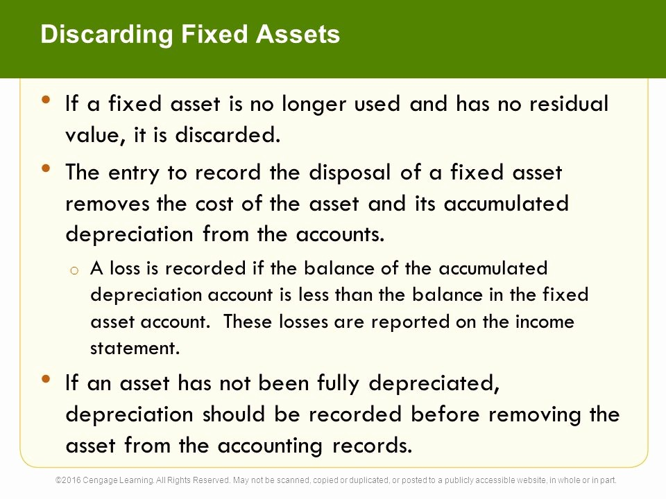 How to Record Fixed assets Unique 10 Fixed assets and Intangible assets Accounting 26e C H A