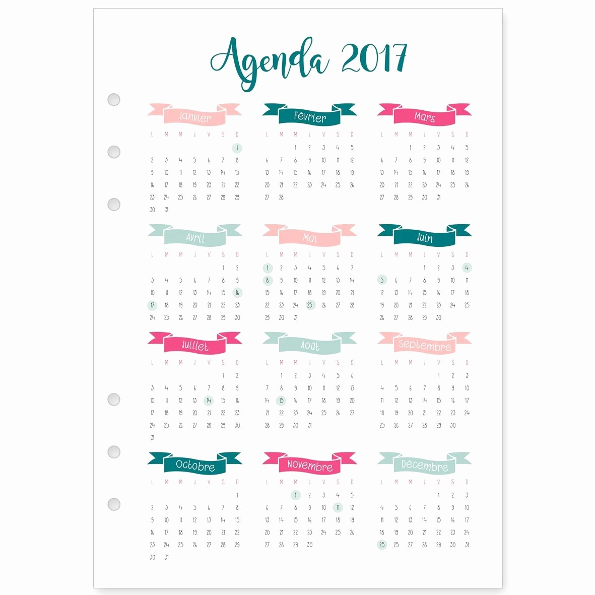 How to Type An Agenda Best Of Recharge 2017 De Janvier à Décembre Pour Agenda Type