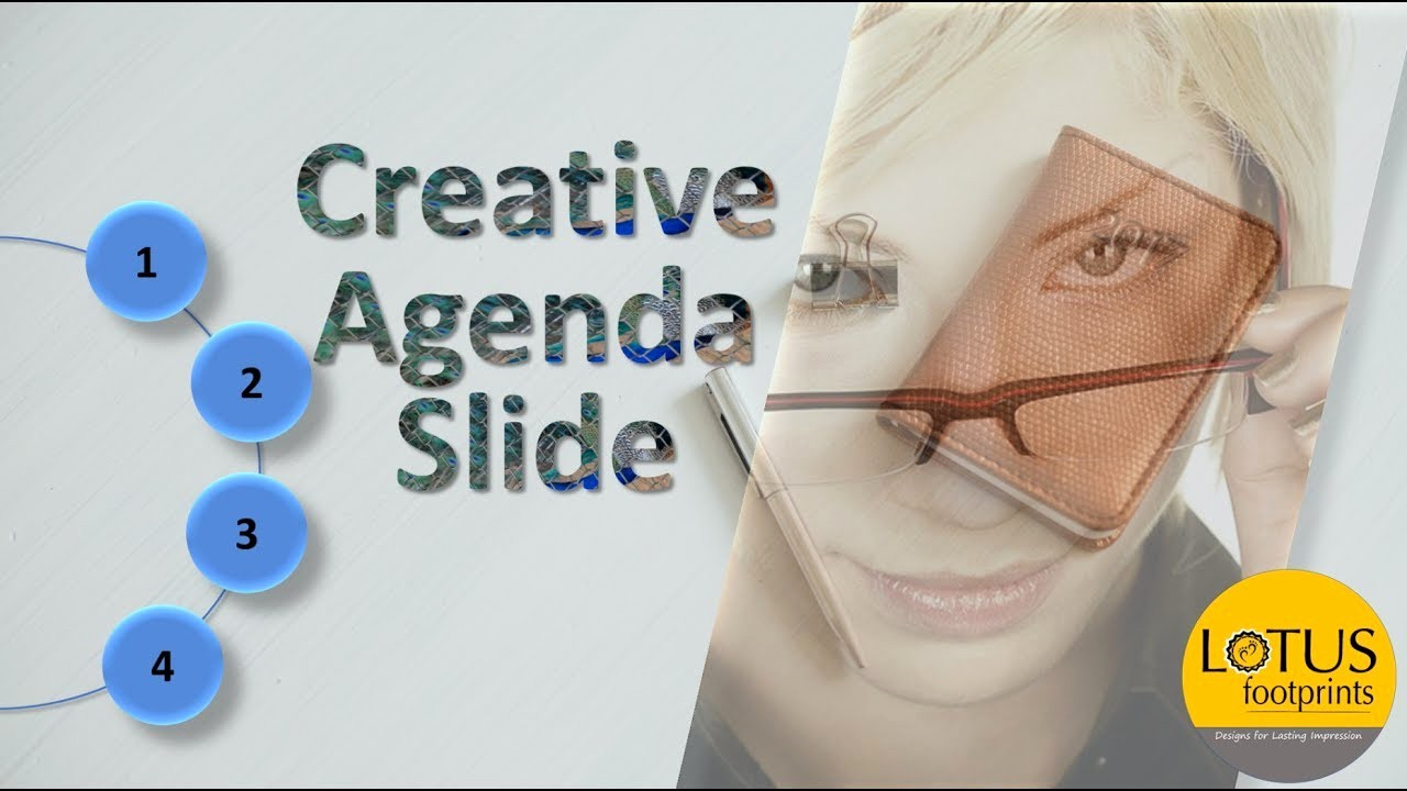 How to Type An Agenda Inspirational Powerpoint Tricks Creative Agenda Slide In Powerpoint