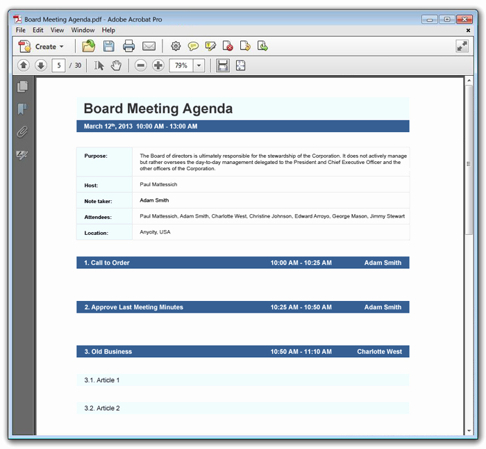 How to Type An Agenda Lovely 15 Meeting Agenda Templates Excel Pdf formats