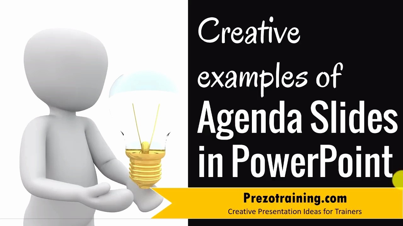 How to Type An Agenda Lovely Creative Examples Of Agenda Slide In Powerpoint