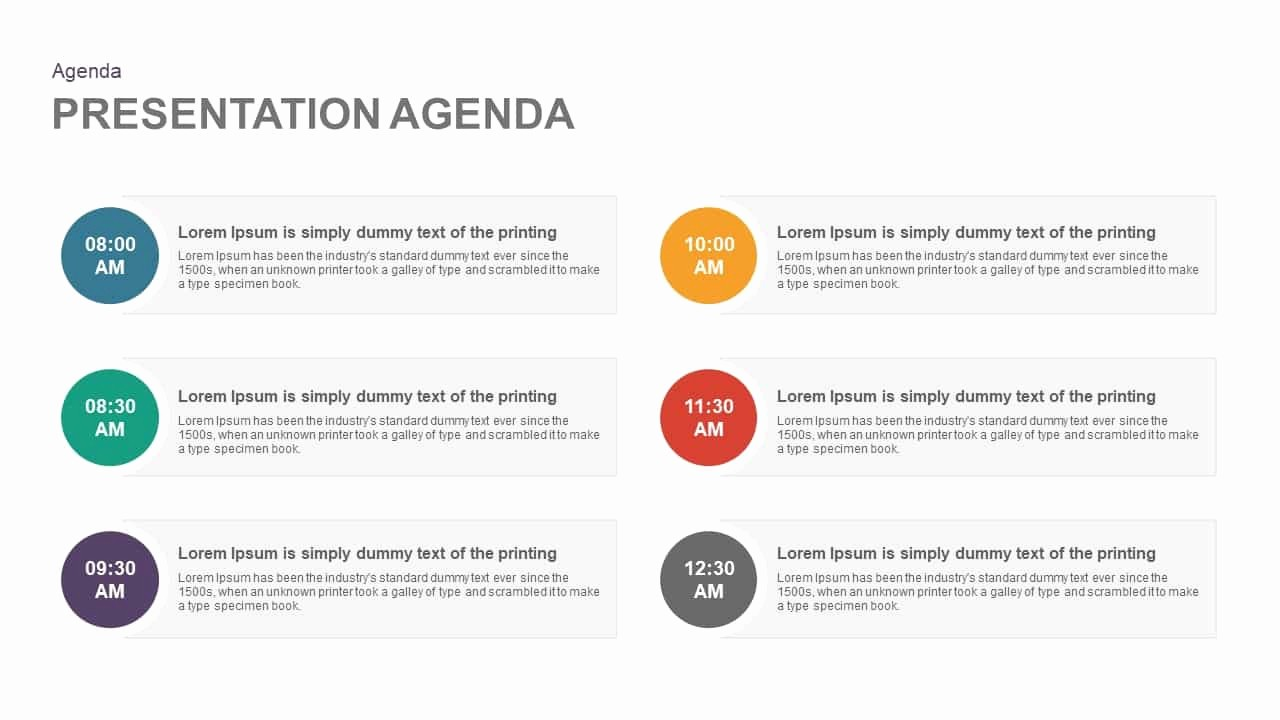 How to Type An Agenda Lovely Presentation Agenda Template for Powerpoint and Keynote
