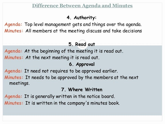 How to Type An Agenda Luxury Notice Agenda Minutes