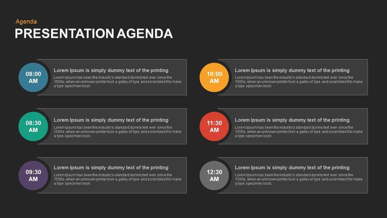 How to Type An Agenda New Presentation Agenda Template for Powerpoint and Keynote