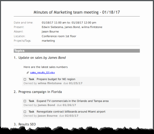 How to Type Up Minutes New How to Write Meeting Minutes Quickly and Easily