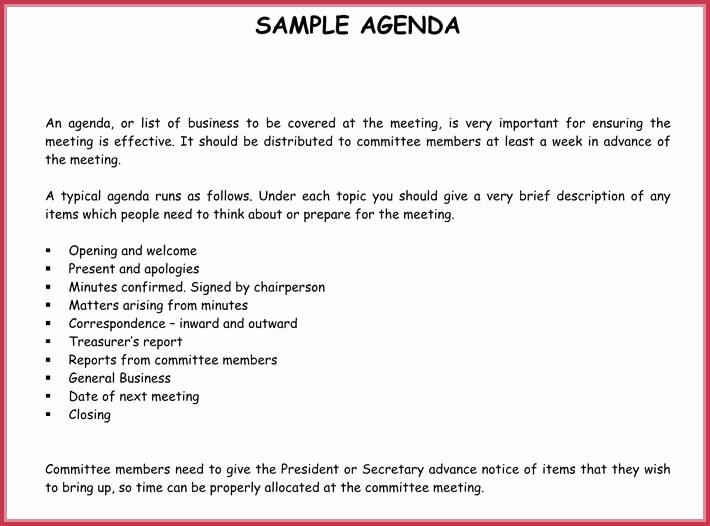 How to Type Up Minutes Unique How to Type Up Minutes From A Meeting Template Baskan