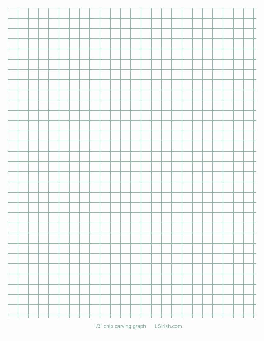 How to Use Graph Paper Awesome How to Transfer A Chip Carving Pattern Using Graphing