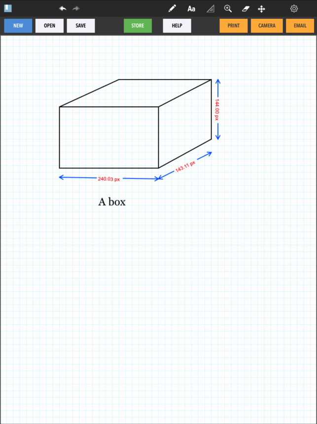 How to Use Graph Paper Beautiful graph Paper On the App Store