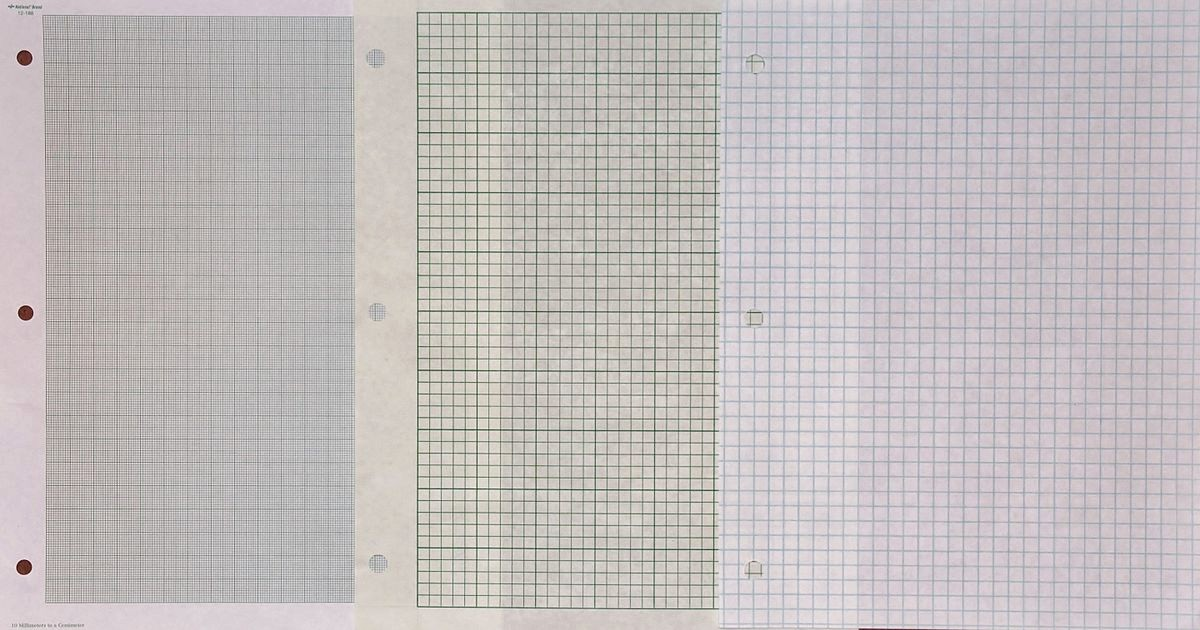 How to Use Graph Paper Beautiful Graph Paper