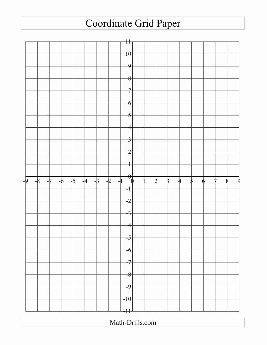 How to Use Graph Paper Fresh Coordinate Grid Paper A Graph Paper