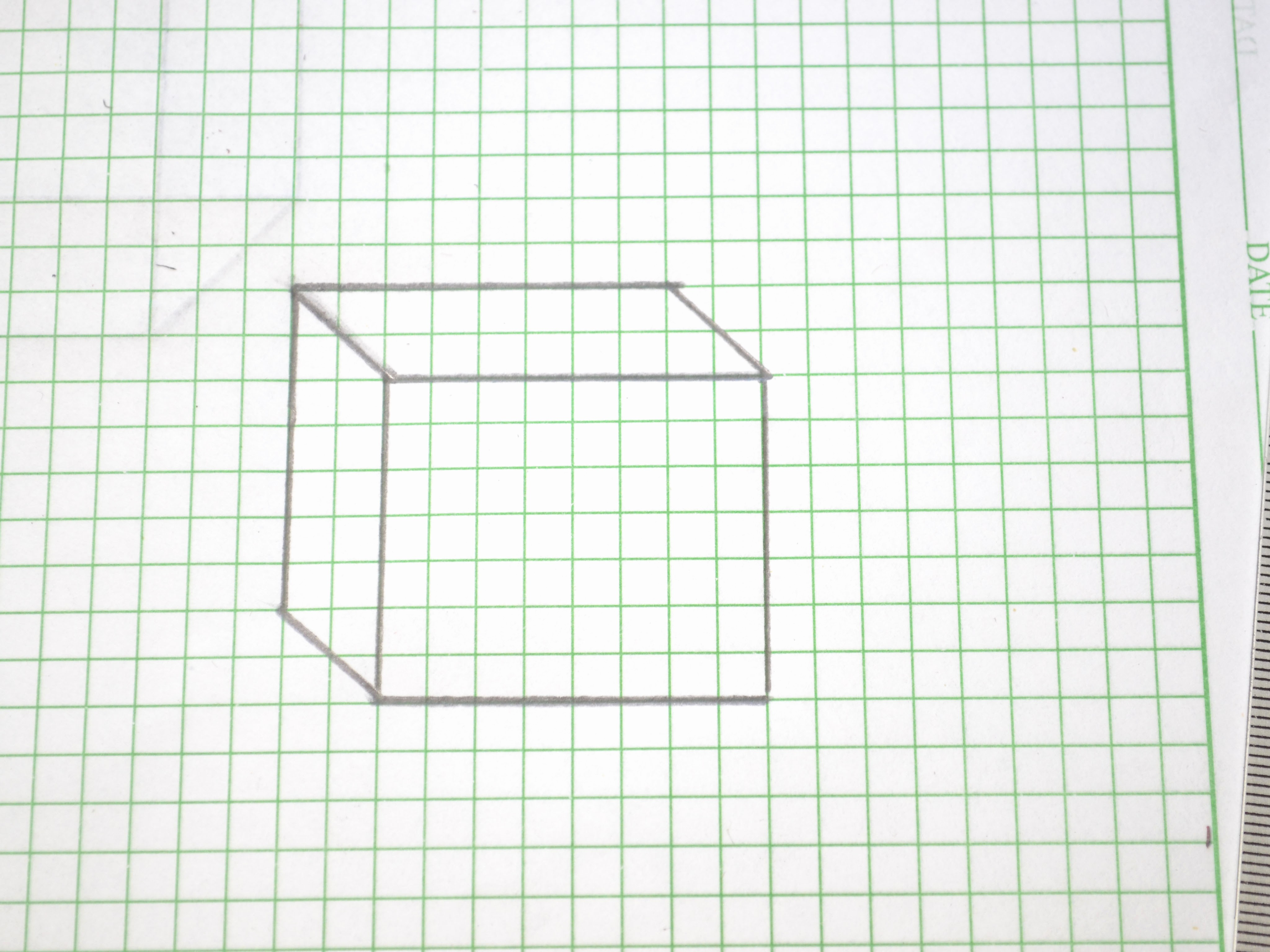 How to Use Graph Paper Inspirational How to Draw A 3d Box 14 Steps with Wikihow