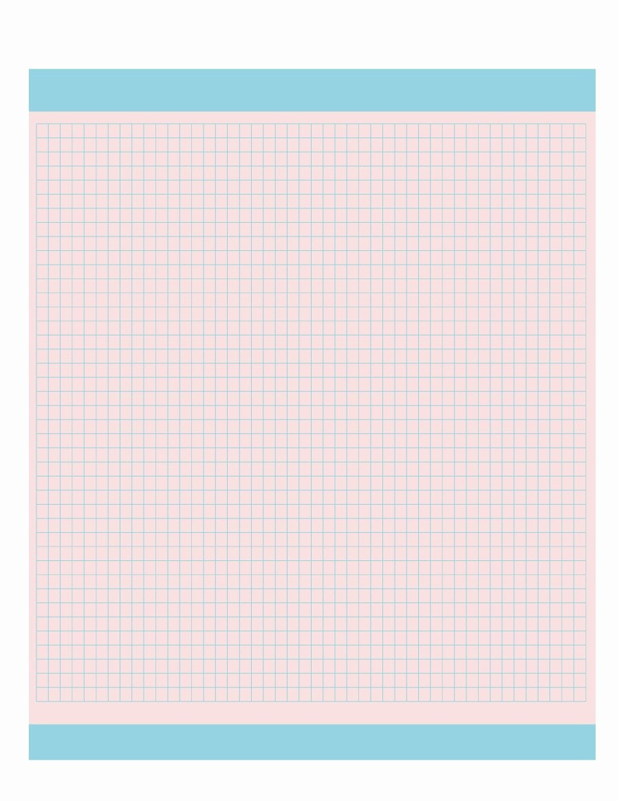 How to Use Graph Paper Luxury 33 Free Printable Graph Paper Templates Word Pdf Free