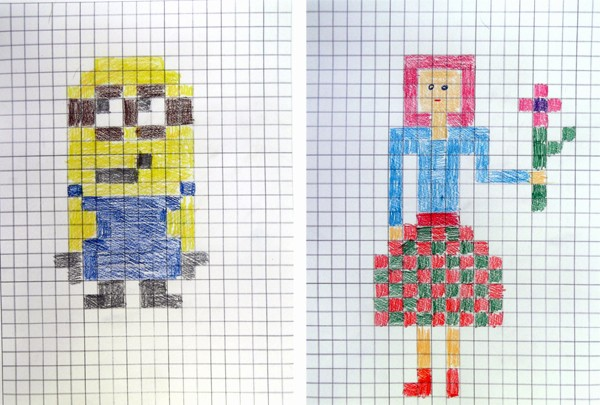 How to Use Graph Paper Luxury Craftsboom Pixel Art Style Painting Graph Paper Art