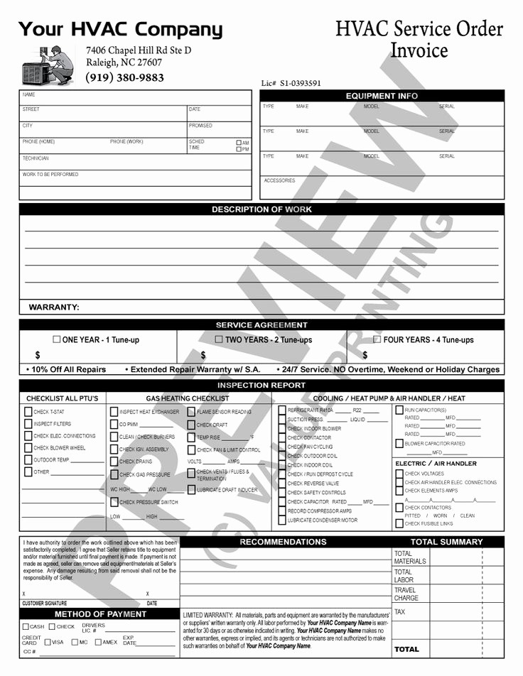 Hvac Start Up Report Template Lovely Hvac Maintenance Checklist Template Hvac Inspection Free