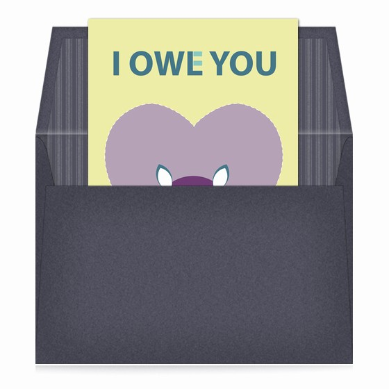 I Owe You Certificate Template Elegant I Owe You Invitations & Cards On Pingg