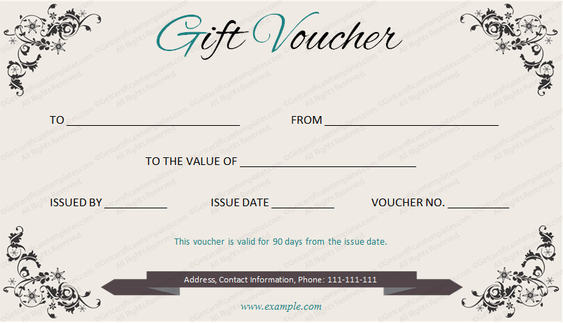 I Owe You Gift Certificate Inspirational Elegant Gift Voucher Template by Get Certificates