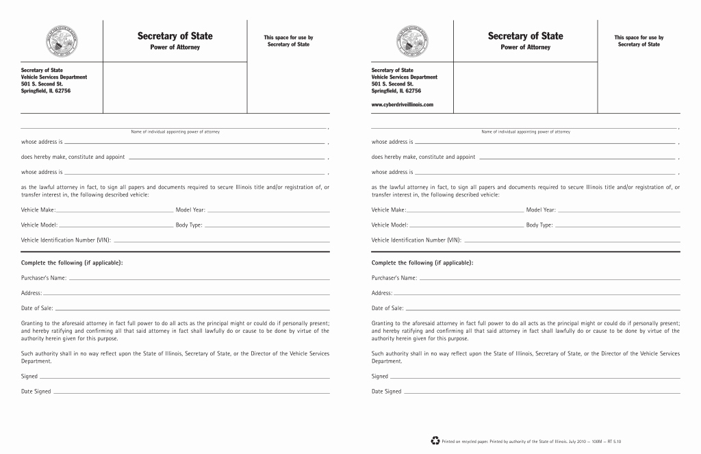Illinois Vehicle Bill Of Sale Lovely Illinois Motor Vehicle Registration Impremedia
