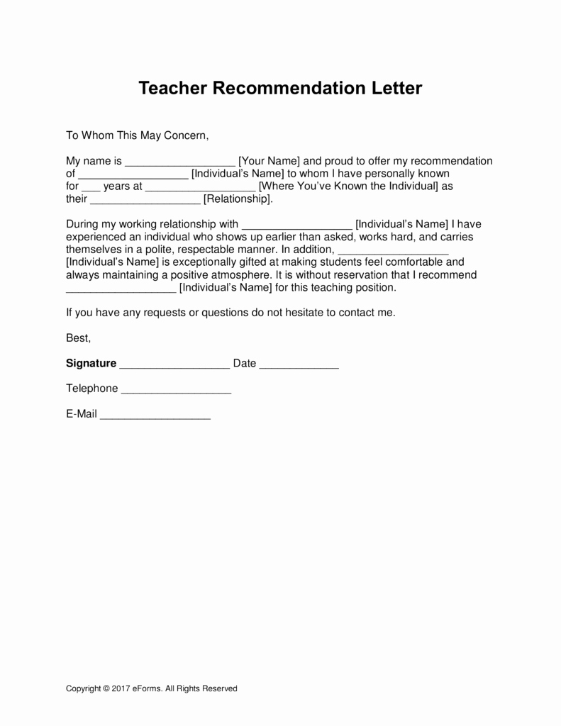 Images Of Letters Of Recommendation Unique Examples Re Mendation Letters for Education