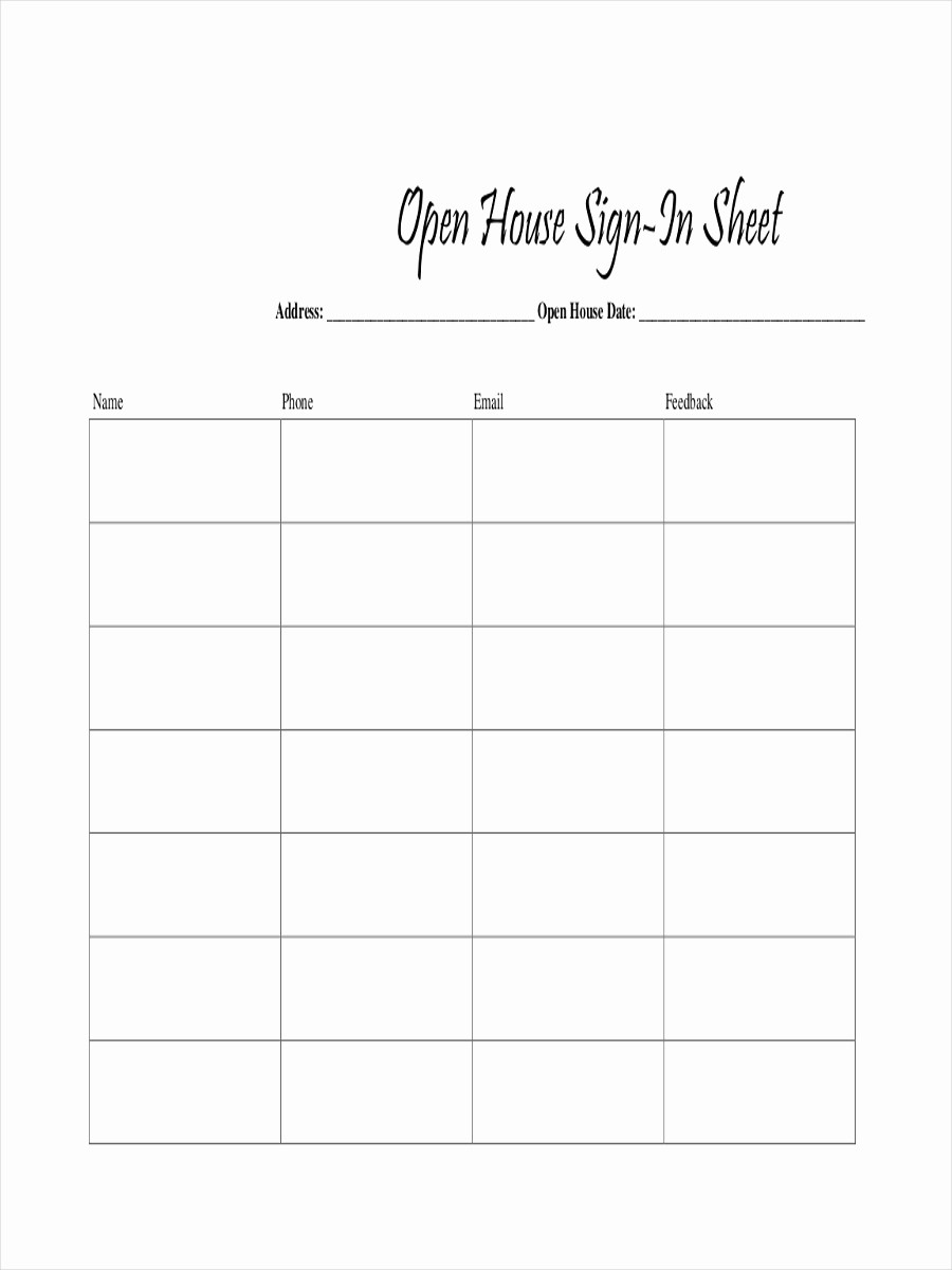 Images Of Sign In Sheets Lovely 12 Sign In Sheet Examples & Samples