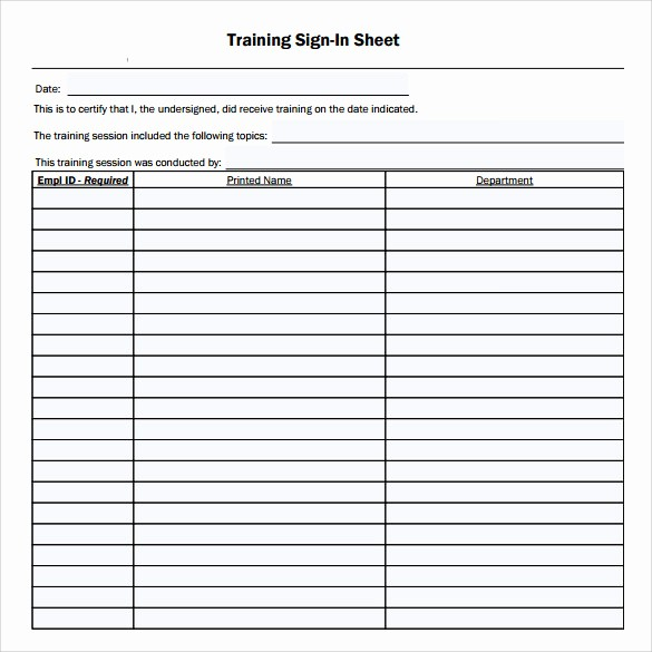 Images Of Sign In Sheets Luxury Training Sign In Sheet 16 Free Samples Examples & formats
