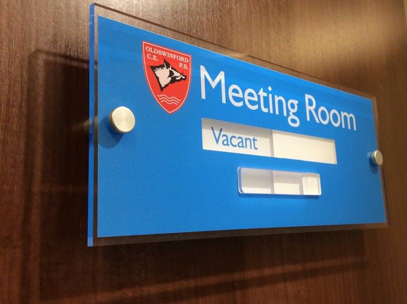 In A Meeting Door Sign Best Of Sliding Door Sign Vacant or Engaged Meeting Room Signs