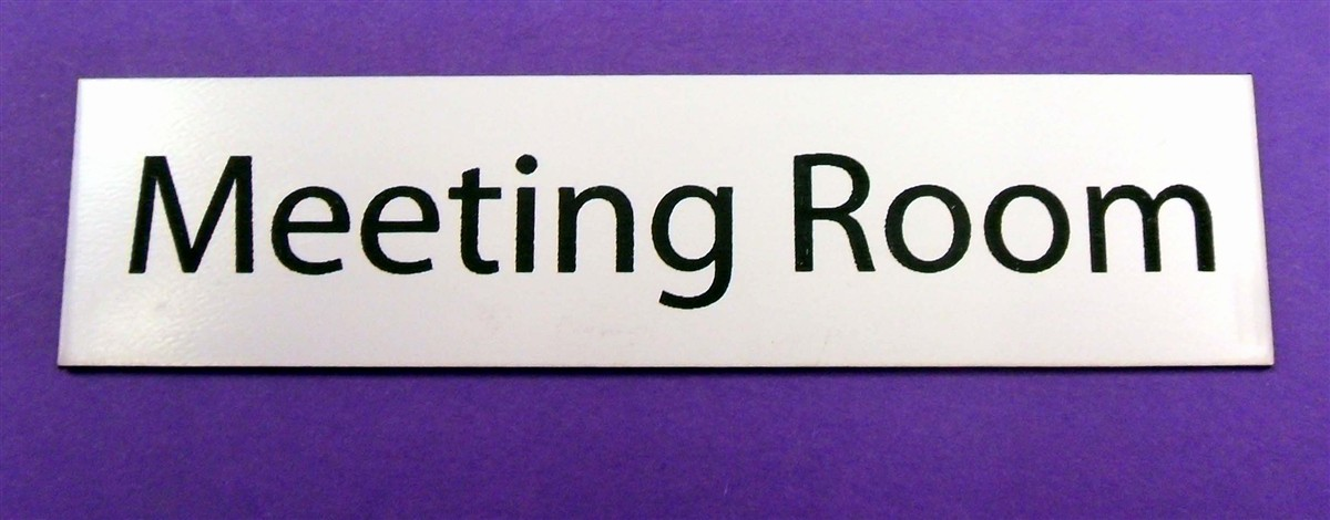 In A Meeting Door Sign Fresh Acrylic Laminate Meeting Room Sign Sk Signs & Labels