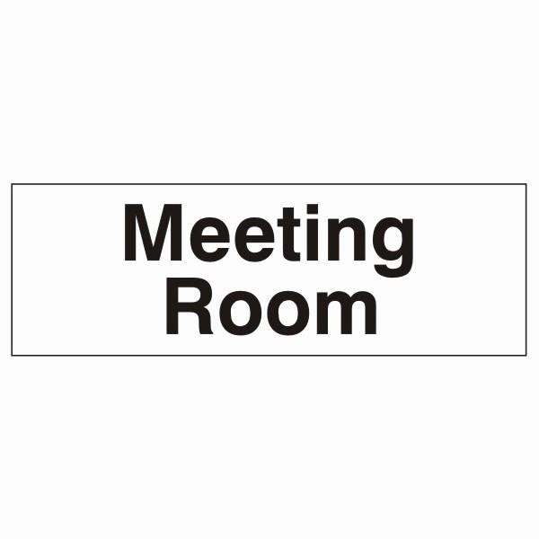 In A Meeting Door Sign Fresh Meeting Room Door Sign 300x100mm