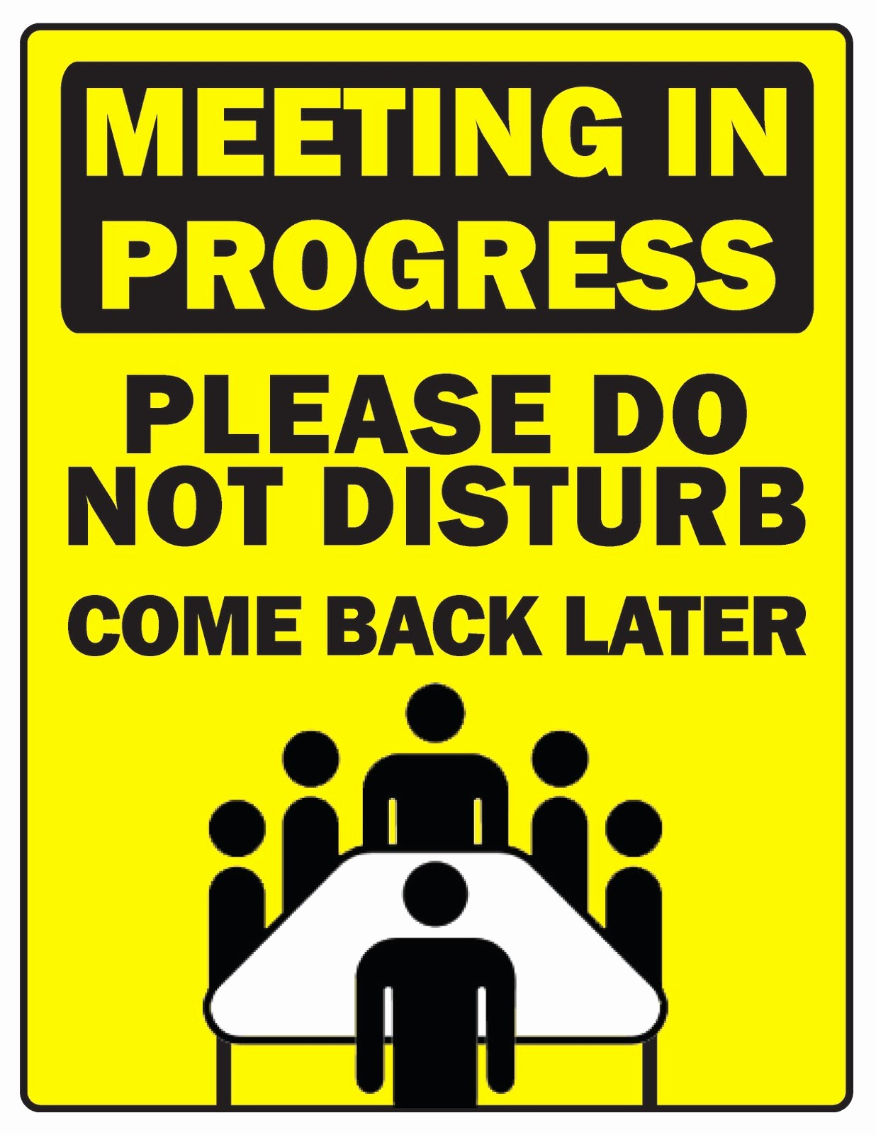 In A Meeting Door Sign Inspirational Courtney S Wyoming Union Graphic Design Internship