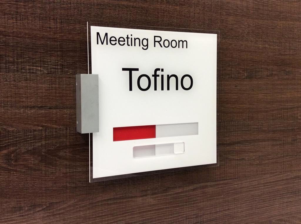 In A Meeting Door Sign Lovely Mark Harris Designagesigns