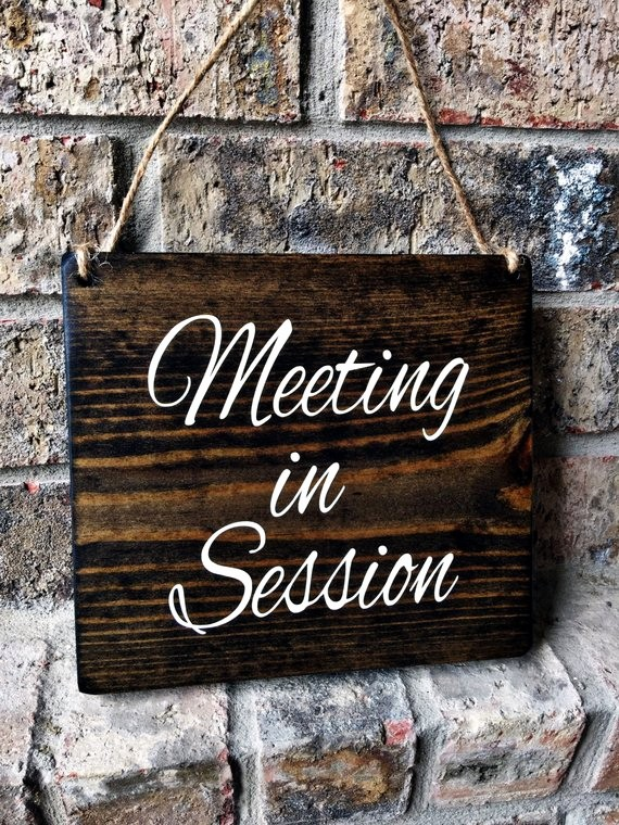 In A Meeting Door Sign Luxury Fice Sign 7x8 Meeting In Session Door Sign Do Not