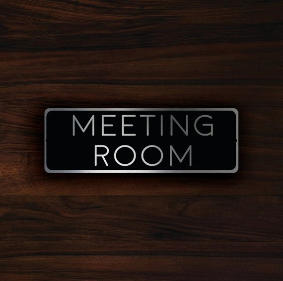 In A Meeting Door Sign Luxury Meeting Room Sign Meeting Room Signs Meeting Room Door Sign