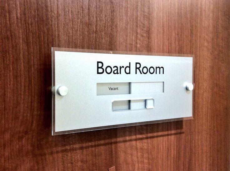 In A Meeting Door Sign Unique Sliding Door Signs Boardroom Meetingroom Conference