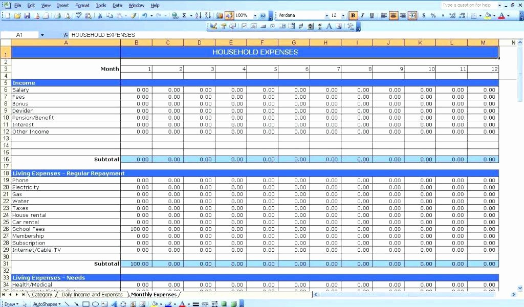 Income and Expense Ledger Template Best Of Free Accounting Spreadsheet Excel Templates Bookkeeping