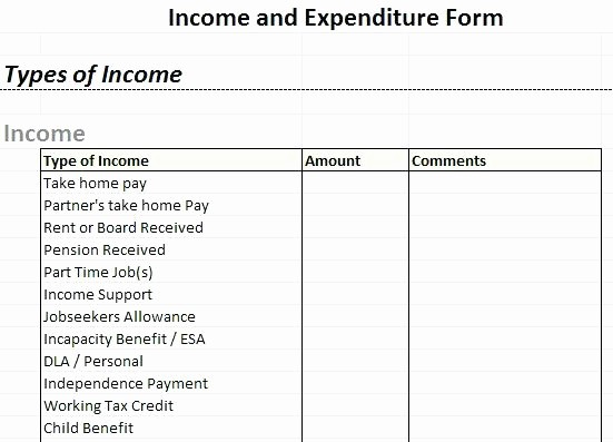 Income and Expense Report Template Lovely Sample Business Expense Spreadsheet with Daily In E and