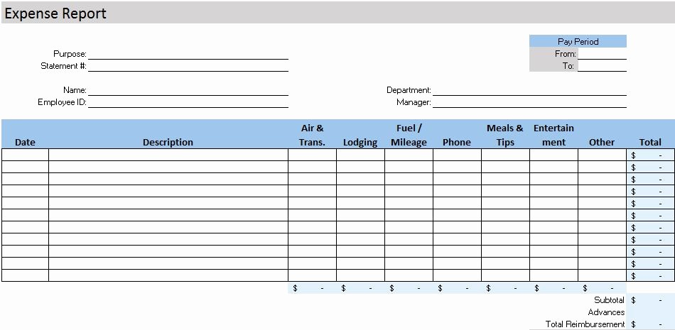 Income and Expense Report Template Unique Free Accounting Templates In Excel