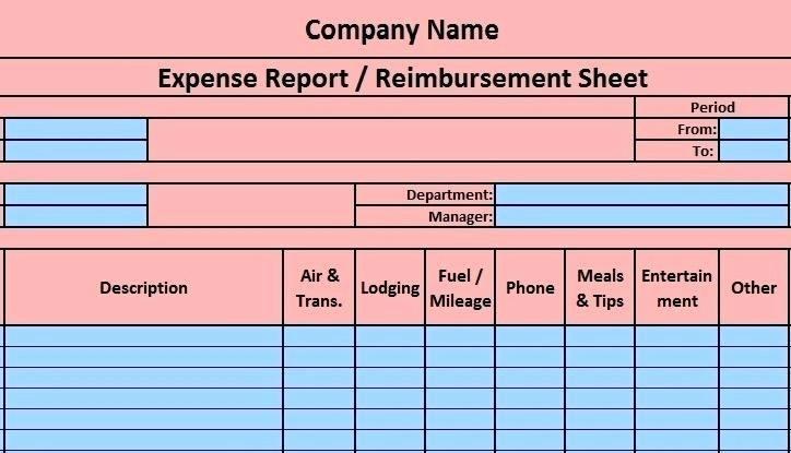 Income and Expense Report Template Unique In E and Expenditure Report Template Expense Sheet Excel