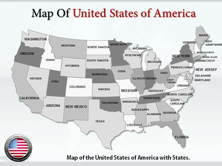 Interactive Map Of Usa Powerpoint Elegant Get High Quality Editable Maps Of the United States Of