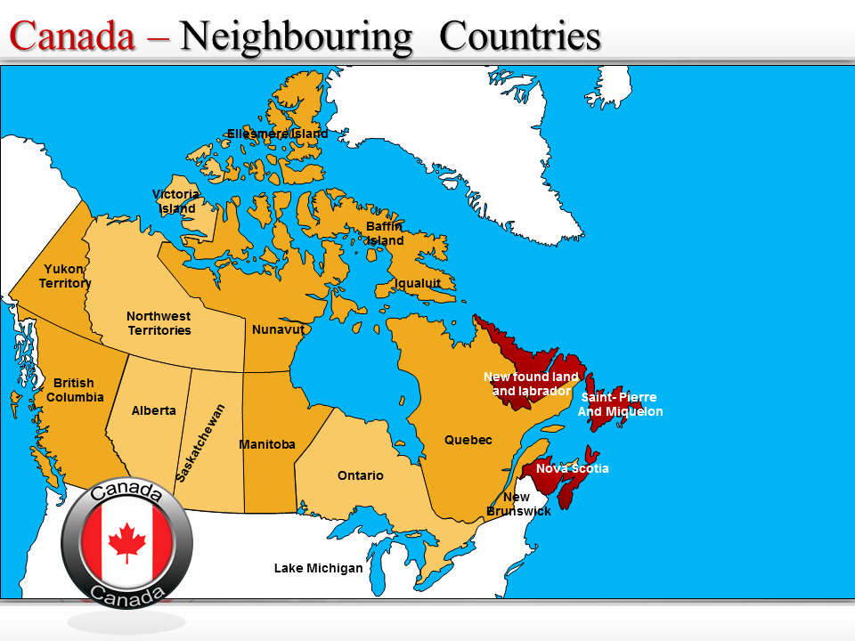 Interactive Map Of Usa Powerpoint Fresh Canada Map Interactive Canada Map Canada Map Powerpoint