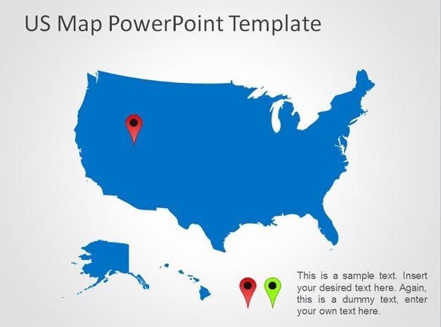 Interactive Map Of Usa Powerpoint New Best S Of Template Us Map Us Map with States