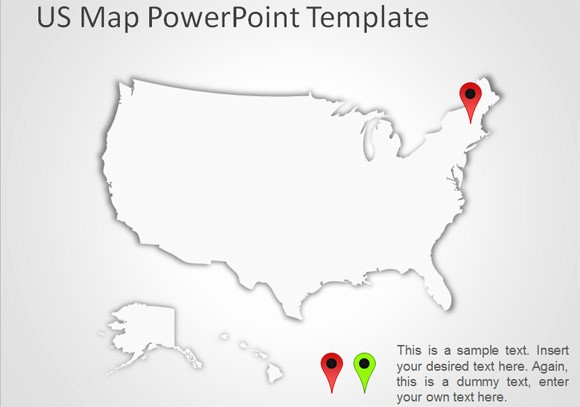 Interactive Map Of Usa Powerpoint Unique Best Editable Usa Map Designs for Microsoft Powerpoint