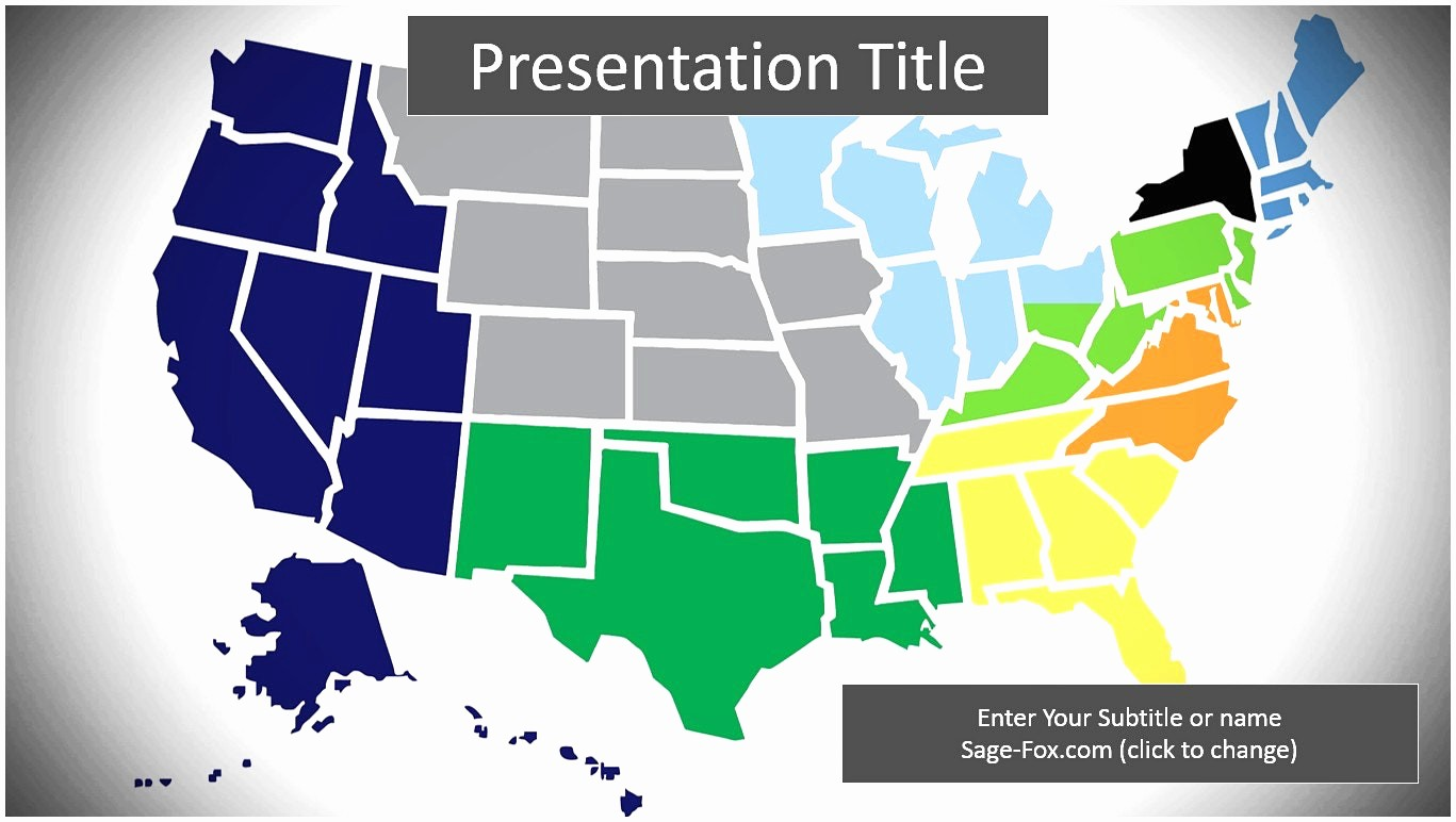 Interactive Us Maps for Powerpoint Lovely Interactive Us Map