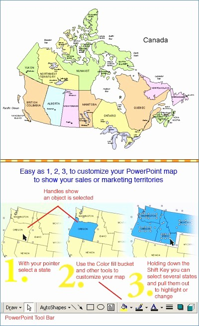 Interactive Us Maps for Powerpoint New Interactive Maps for Powerpoint Netztipps