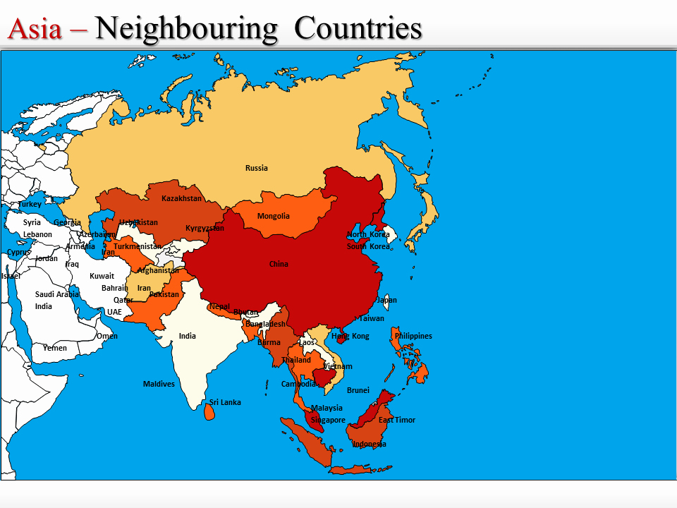 Interactive World Map for Powerpoint Awesome Powerpoint Map Of asia Interactive Map Of asia Ppt World