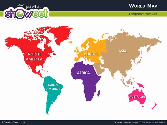 Interactive World Map for Powerpoint Beautiful Mapa Del Mundo Para Powerpoint